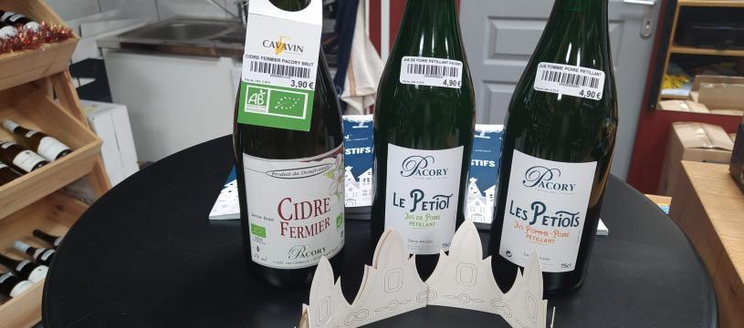 Cidre et Pétillants sans alcool de chez Pacory